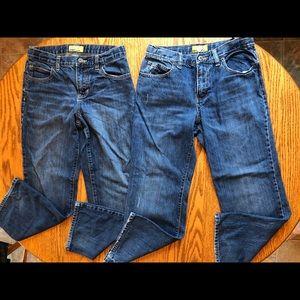 Boys old navy jeans size 12 husky